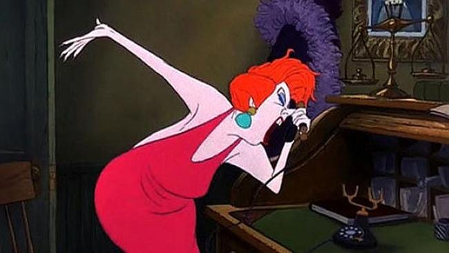"Madame Medusa from ""The Rescuers""."