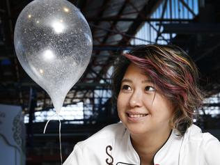 Masterchef's Christy Tania sugar balloon