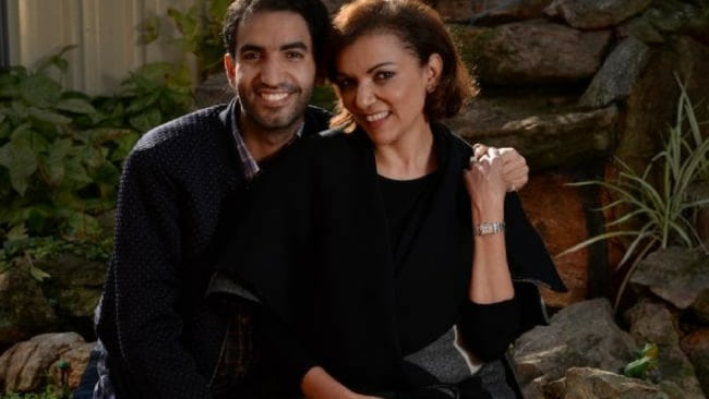 Anne Aly got into politics in part because of her son Adam Rida (pictured), who was a member of the Labor Party long before his mum. Photo: News Corp Australia