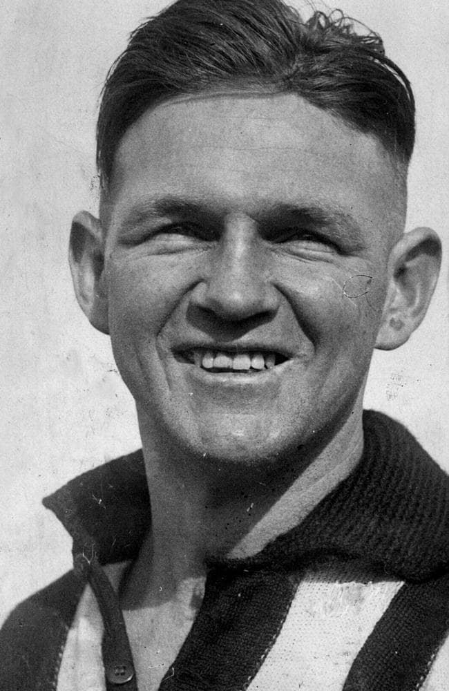 Collingwood's Harry Collier.