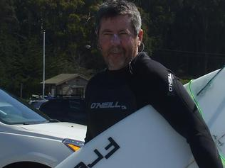 Des Watson believed to be the Surfer who died after being struck in the head at Gunnamatta Beach, Mornington Peninsula Picture Facebook