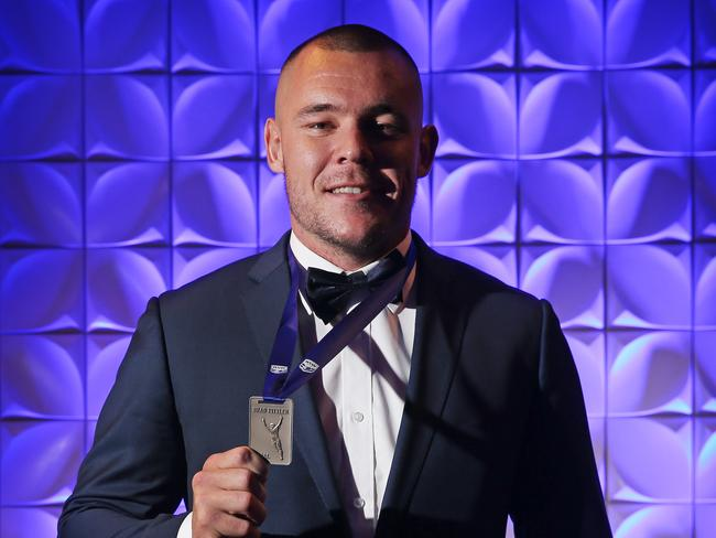 David Klemmer wins the Brad Fittler Medal. Picture: Toby Zerna