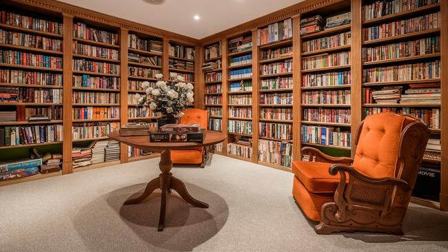 This large library could be yours — just bring your favourite books.