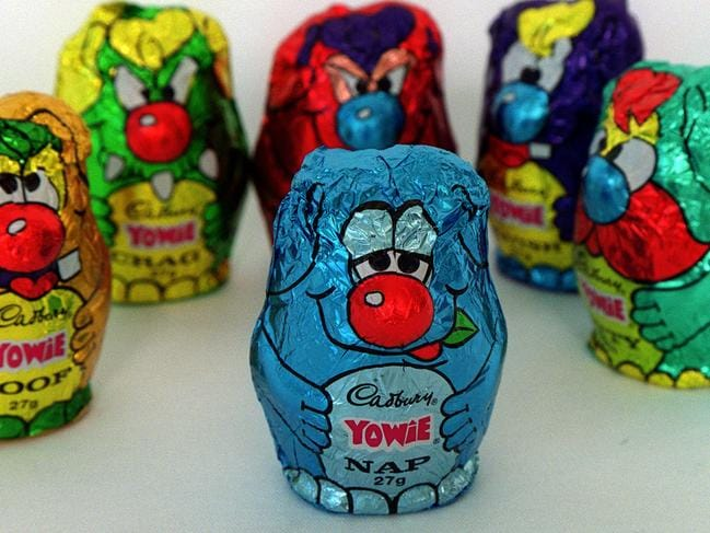 'Yowie Chocolate' sweets created by aust author Bryce Courtenay. confectionery sweet /Chocolate /Confectionery