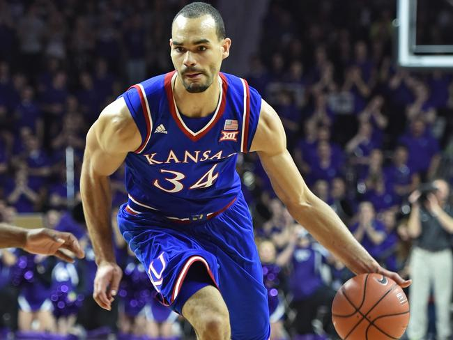 Forward Perry Ellis enjoyed a stellar career with the Kansas Jayhawks. Picture: Getty Images
