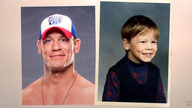 John cena as a kid