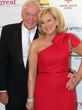 Kerri-Anne Kennerley and her husband attend many A-list events together.