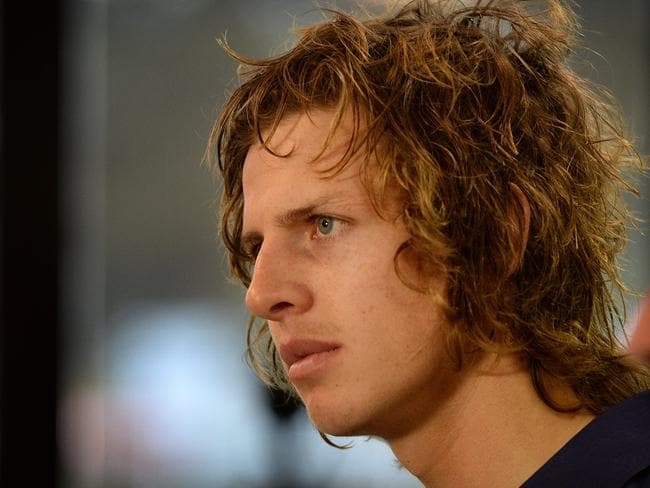 Nathan Fyfe, 22, looms as a potential Dockers captain after signing with the club for another three years.