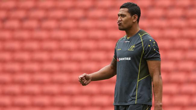 Lions turn up heat on Folau