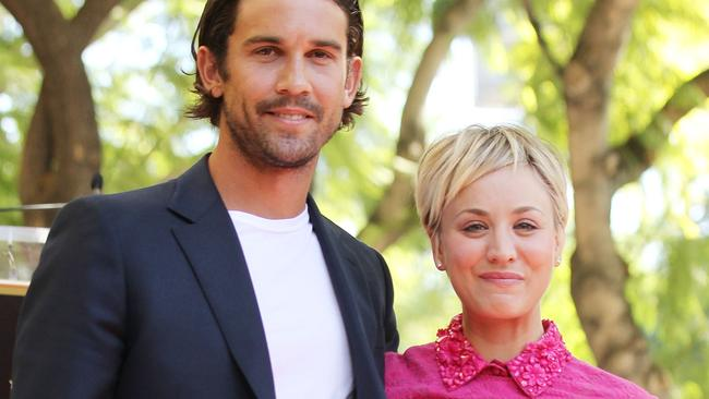Kaley Cuoco and Ryan Sweeting in 2014.