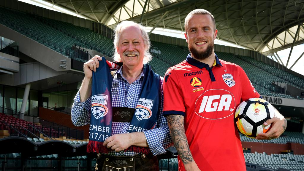 Adelaide United Picture: Adelaide United's German Recruit Daniel Adlung Ready To