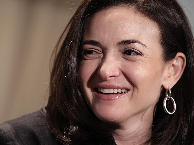 Sheryl Sandberg is estimated to be worth over a billion dollars because of her Facebook stock.