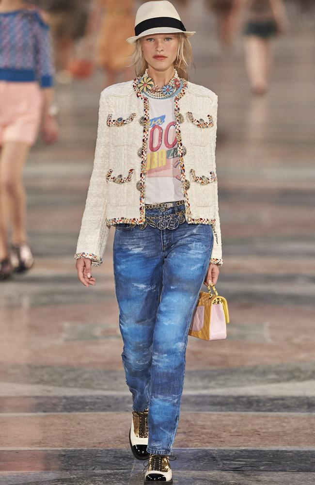 Quintessential Chanel cruised into Cuba and showcasing its cruise collection. Picture: Supplied