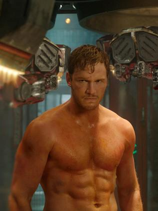 Chris Pratt in a scene from  <i>Guardians Of The Galaxy</i>. Picture: AP