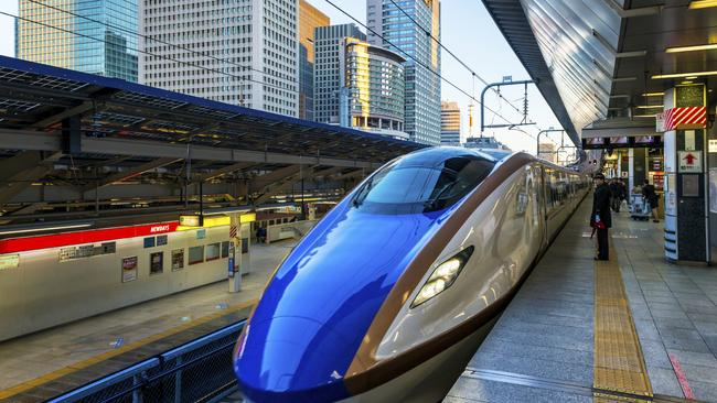 Long term transport planning? Japan has had high speed Shinkansen trains since 1964.