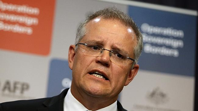 Matter of trust ... Minister for Immigration and Border Protection, Scott Morrison .