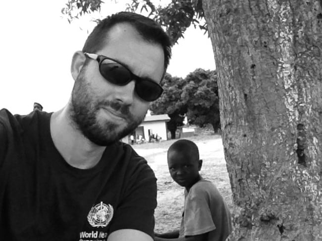 Finding hope ... Dr Fischer believes the spread of Ebola virus can be halted.