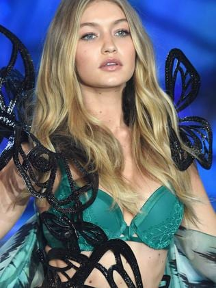 Angel ... Gigi Hadid has already walked for Victoria's Secret. Picture: Getty