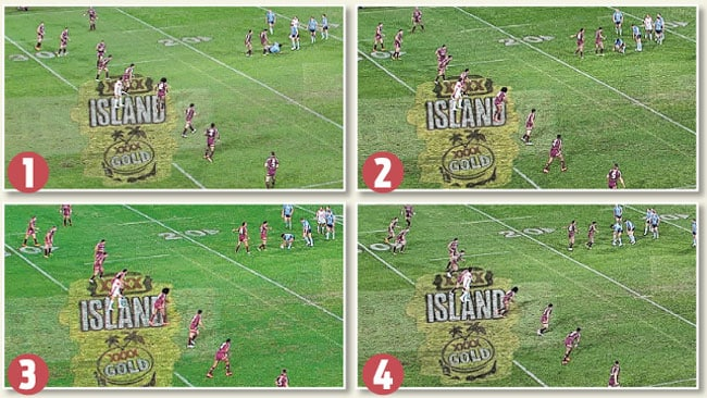 Why the Blues are filthy with the Origin refs.