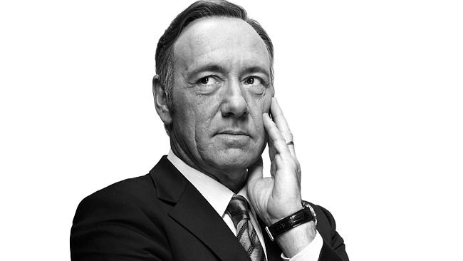 Getting it done ... Kevin Spacey plays Frank Underwood in House of Cards. Picture: Supplied