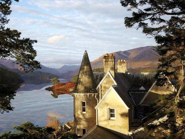 The incredibly picturesque estate of Glen Affric in Scotland. Picture: Travel Associates
