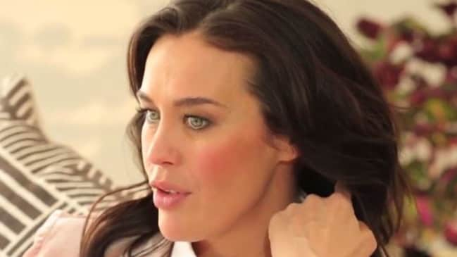 Megan Gale on her 'daunting' pregnancy