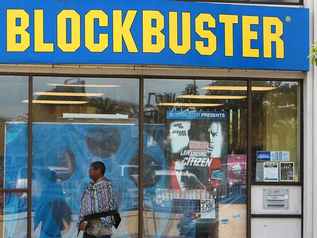 Oliver wants to save the struggling video rental retailer. Picture: AFP