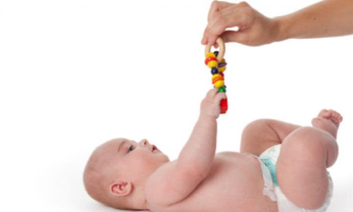 Baby Exercise: Reaching out