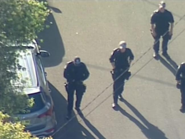 "Police raid Ibrahim house where 'Tongan Sam' was shot.  Police have raided a number of houses across western Sydney, including one belonging to the mother of nightclub figure John Ibrahim, just days after Mr Ibrahim's long-term bodyguard Semi ""Tongan Sam"" Ngata was shot in the street outside. Picture MUST CREDIT: 9 News."