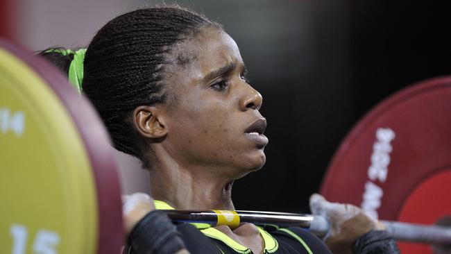 Nigeria's gold-medallist weightlifter Chika Amalaha has failed a drug test.