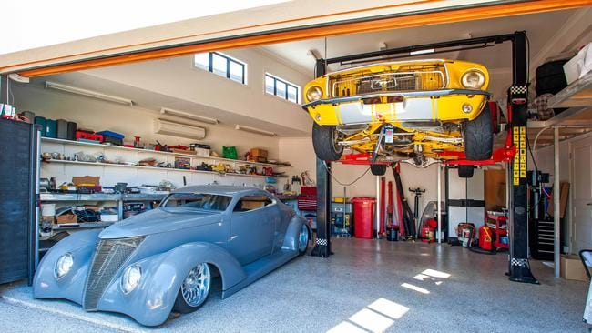 For others the garage is the ultimate man cave.
