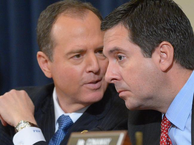 Ranking House Intelligence Committee member Democrat Adam Schiff (D-CA) and Republican chairman Devin Nunes had said they found no evidence that Trump Tower was wiretapped. Picture: Supplied