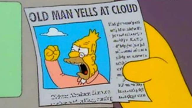 Artist's impression of Tony Abbott's dealings with the Bureau of Meteorology.