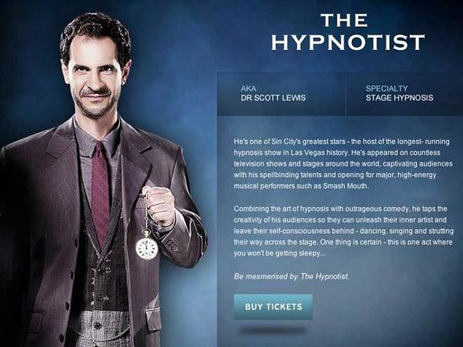 He was in Sydney to perform at the Opera House with the Illusionists 2.0.