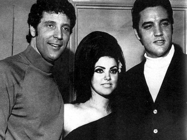 Priscilla is still living her life in the spotlight, with speculation she is dating Tom Jones (pictured here in the mid 60s). Picture: Hutton Getty