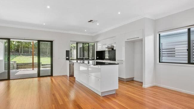 Inside Anthony Chisholm's Wavell Heights home, which he has put on the market. Picture: realestate.com.au.