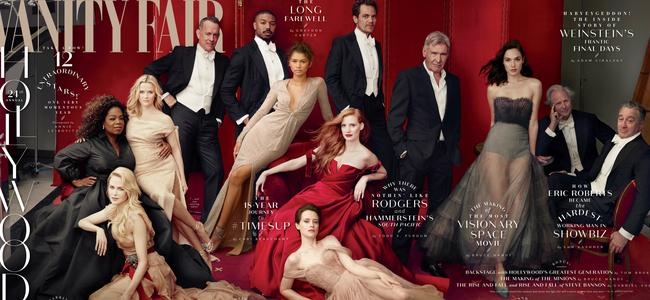 Vanity Fair 'Hollywood' issue cover. Picture: Annie Leibovitz/Vanity Fair