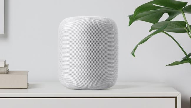 Apple's new home speaker, unveiled at the World Wide Developers Conference.