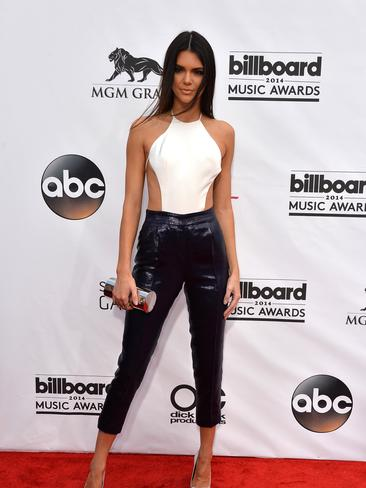 Kendall Jenner in Olcay Gulson at the Billboard Music Awards 2014. Picture: Getty