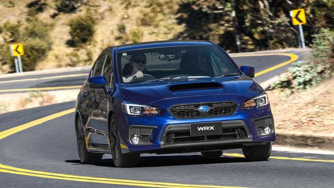 Cool demeanour: the WRX is still loads of fun to drive.