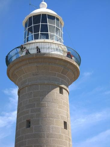 The historic lighthouse dates back to 1880. Picture: Alex Lalak