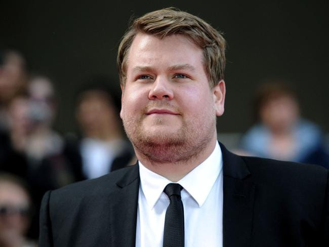 Corden suits up for the 2011 BAFTA awards in London. Picture: AFP