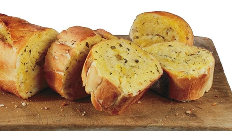 Domino's pizza Garlic Bread, which was recalled after issues with its manufacturing.