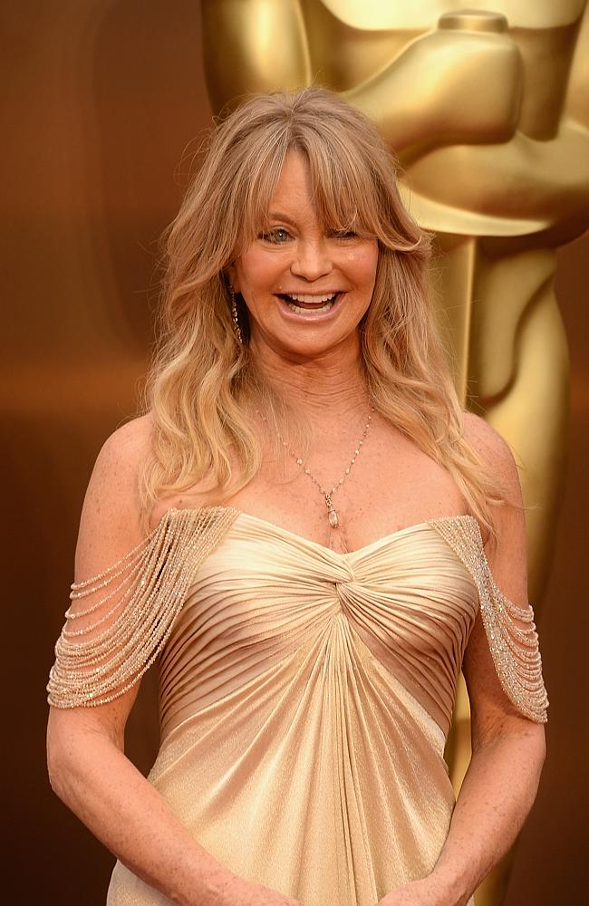 68-year-old Goldie Hawn. Picture: Getty Images