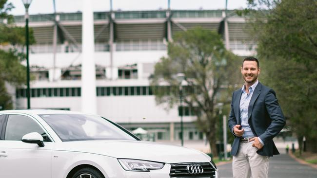 The Block star is now an Audi Ambassador. Pic: Supplied.