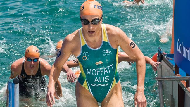 Emma Moffatt had a small fall that hurt her calf and ribs and which may have impaired her breathing.