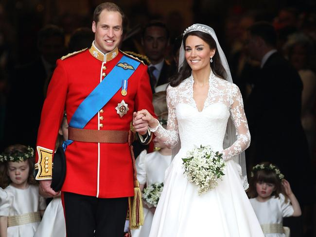 Paola's favourite memories of the day are witnessing the clear bond Prince William has with his brother, and of course, getting a glimpse of the Duchess's incredible dress. Picture: Chris Jackson / Getty Images