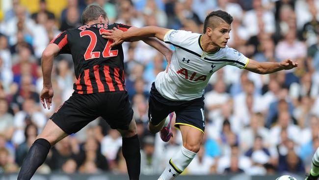 Tottenham Hotspur midfielder Erik Lamela is finding his feet after a tough first season in England.