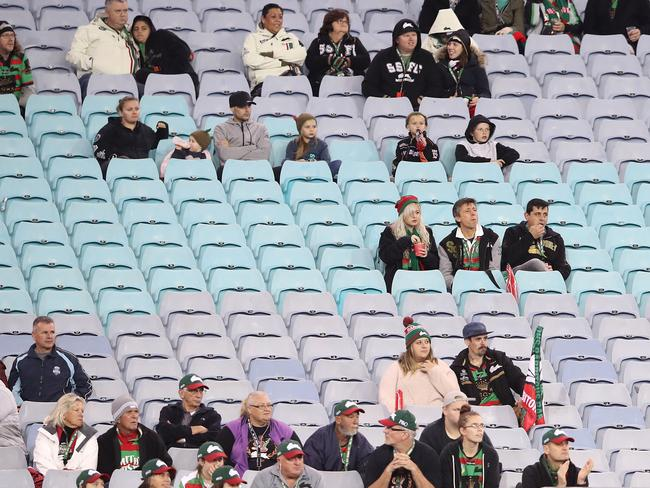 If growth continues, there will be far fewer empty seats at sporting events. Picture: Mark Kolbe