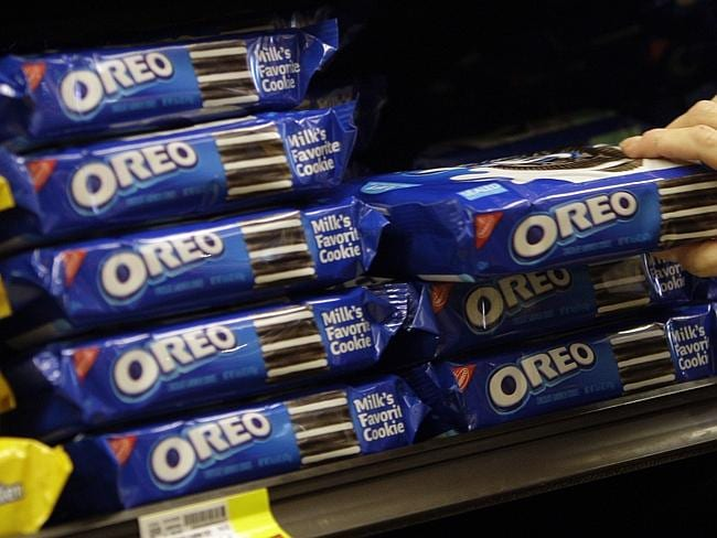 Oreo's owner Mondolez received a low 33 per cent with low scores on climate change, water